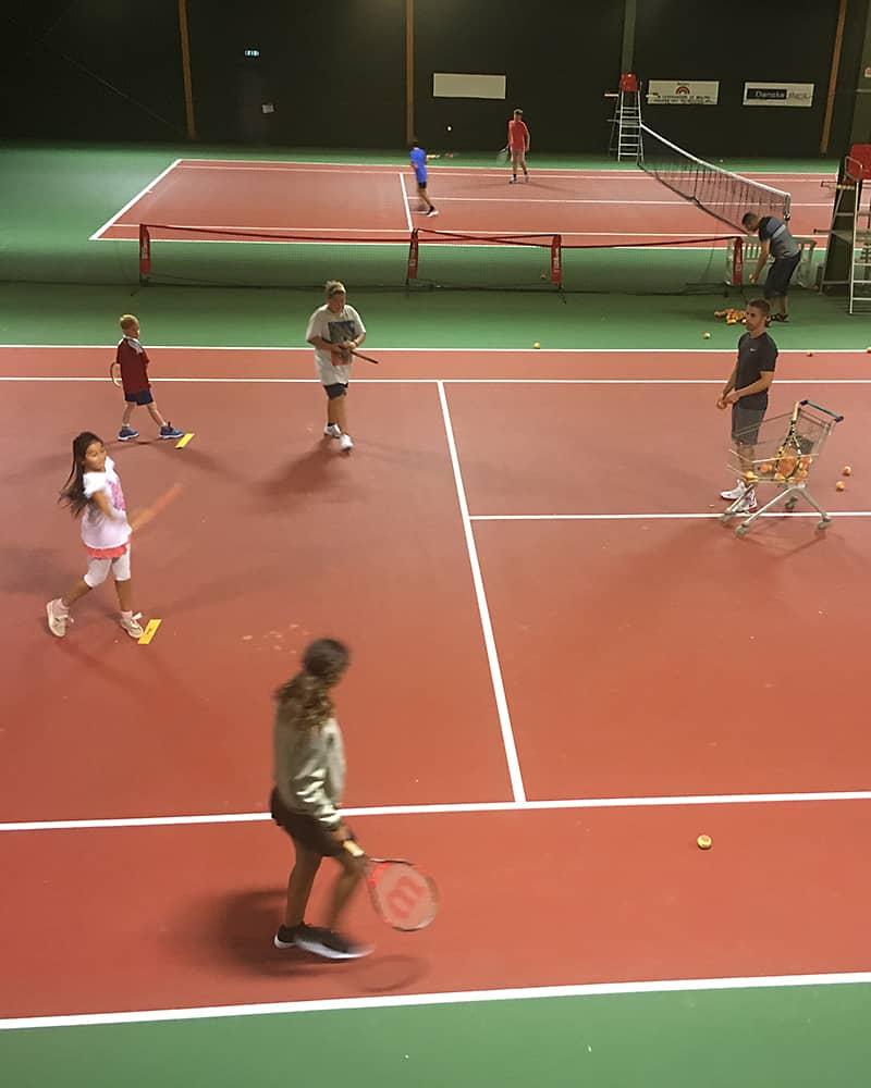Juniortræning Vallensbæk Tennisklub
